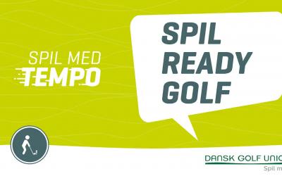 """Spil med tempo – Spil """"ready golf"""""""