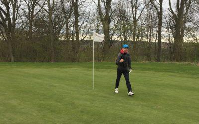 Banen er åben for medlemmer af Aarhus Golf Club
