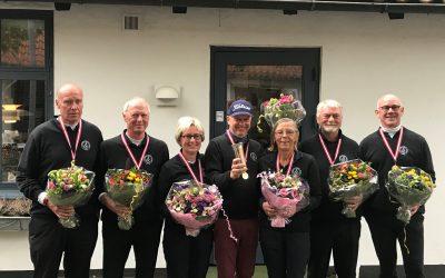 Guldmedaljer til klubbens superveteran- og veteranhold i Danmarksturneringen