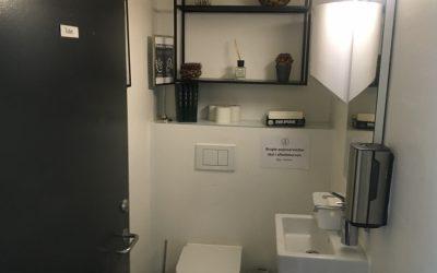 Toilettene åbner igen